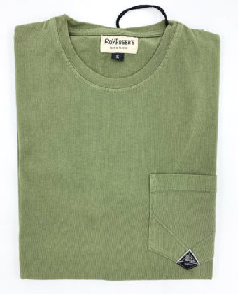 ROY ROGER'S T-SHIRT POCKET IN JERSEY USED