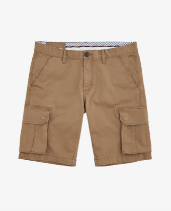 BERMUDA MILITARY SOLID – BEIGE SCURO