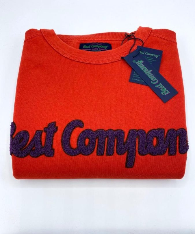 Best Company felpa uomo rossa